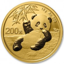 15 Grams gold Panda coin 2020