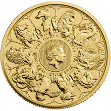 1 troy ounce gold Queen's Beasts Completer 2021
