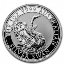 1 troy ounce silver coin swan 2020
