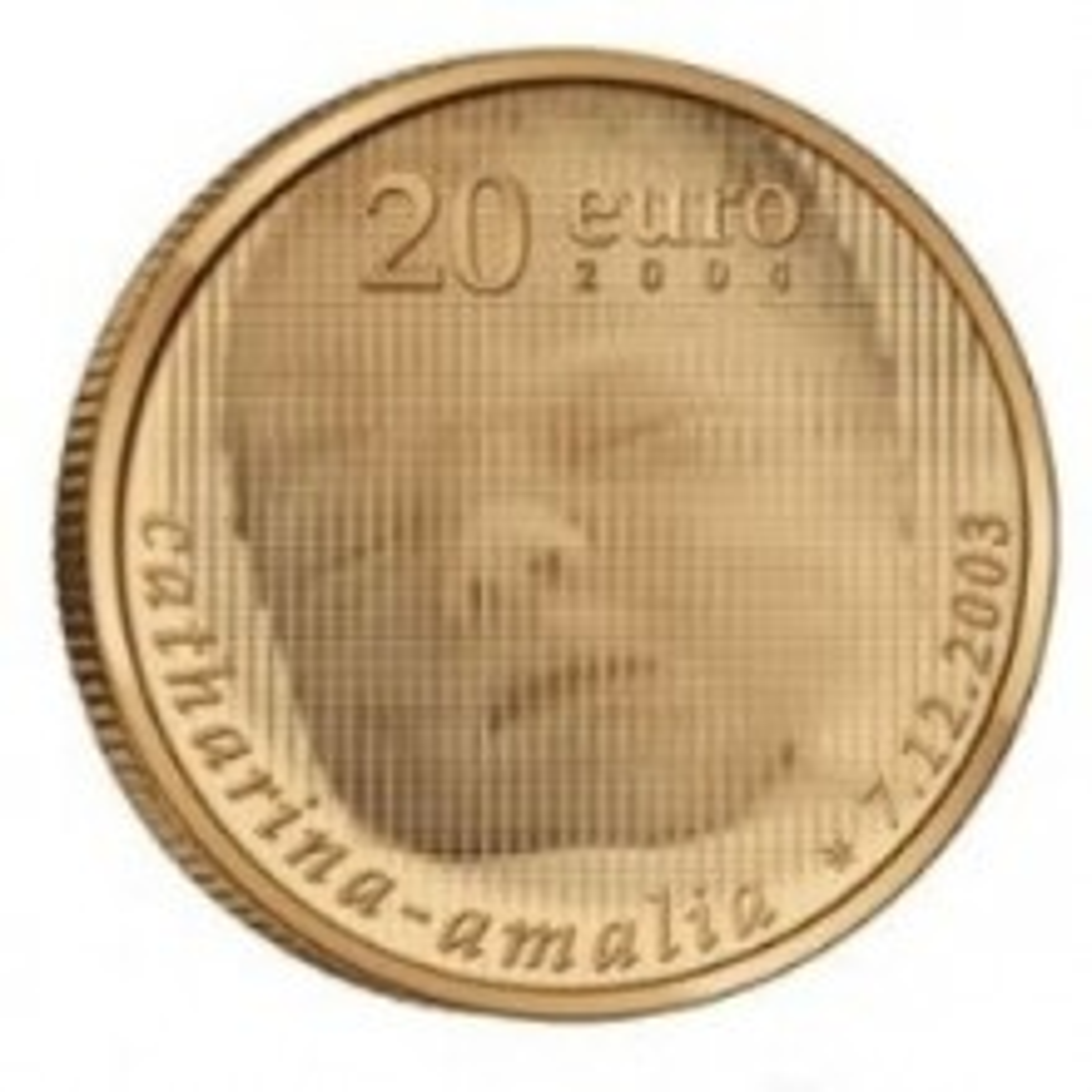 Gold coin 20 Euro Amalia 2004