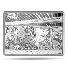 Silver coin Picasso Guernica 2020 Proof