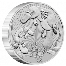 2 troy ounce silver coin Platypus Next Generations 2021