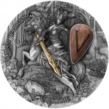 2 troy ounce silver coin female warrior - Valkyrie 2020