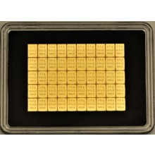 50x 0,5 grams gold CombiBar