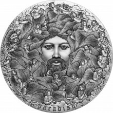 5 troy ounce silver coin Divine comedy 2021