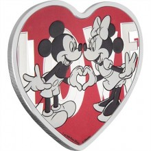 1 Troy ounce zilveren munt Disney Love 2018