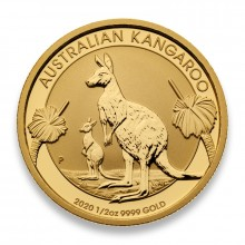 1/2 Troy ounce gold coin Kangaroo 2020
