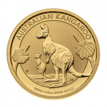 1/4 Troy ounce gold coin Kangaroo 2020
