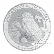 10 troy ounce silver Lunar 2012 - Year of the Dragon - in color