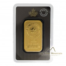 1 troy ounce gold bar The Royal Canadian Mint
