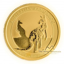 Gold 1/10 troy ounce gold Kangaroo coin