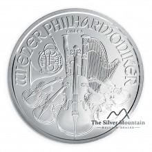 1 troy ounce silver coin Philharmonic 2021