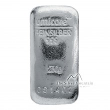 Silver bar 250 grams Umicore