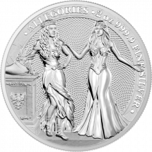 2 Troy ounce silver coin Germania and Italia 2020