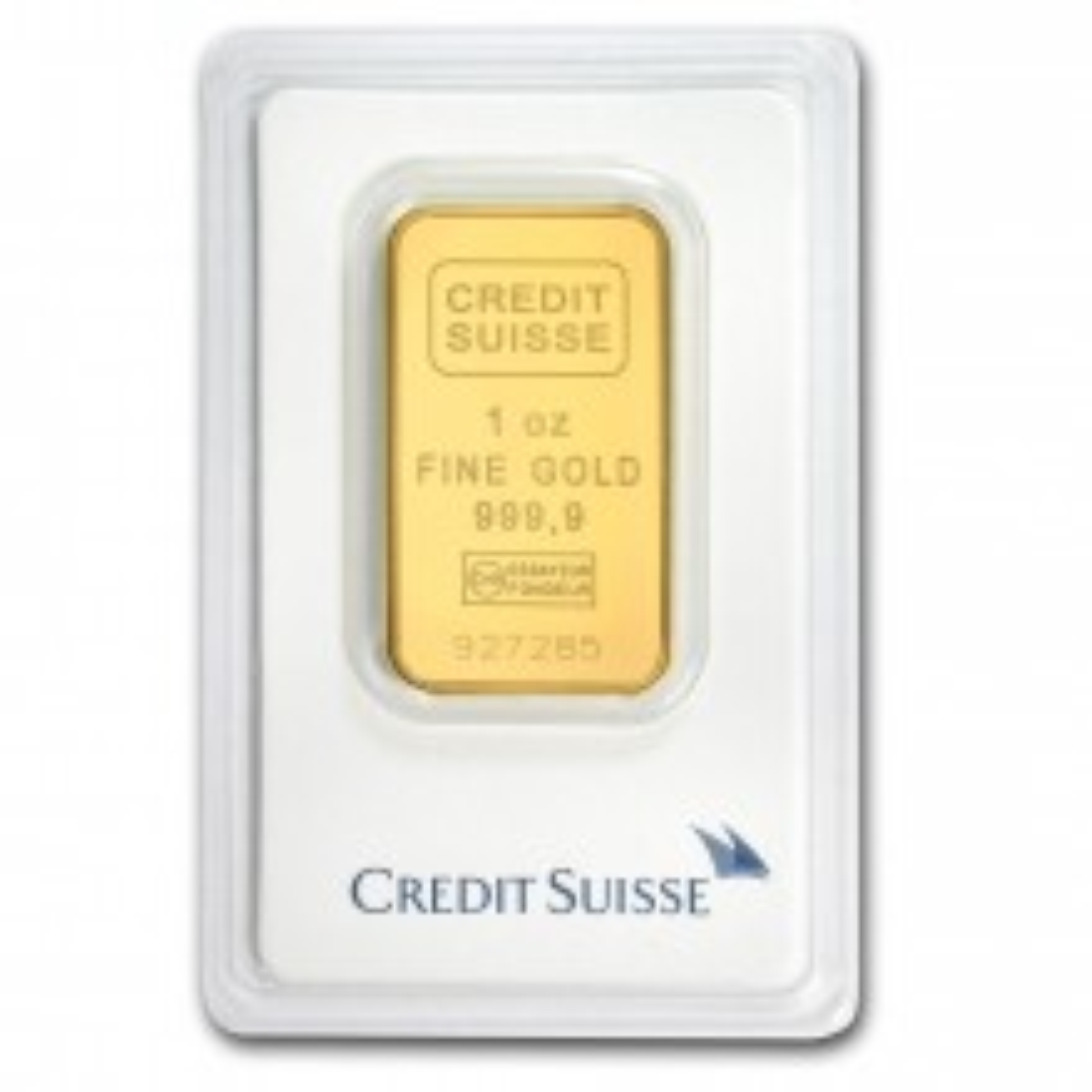 1 troy ounce Goldbar Credit Suisse