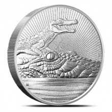 2 Troy ounce silver coin Next Generation - Crocodile 2019
