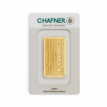 Gold bar 20 grams C.Hafner