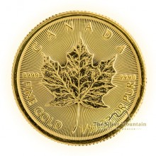 Gold 1/10 troy ounce Maple Leaf coin 2019
