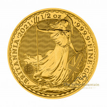 1/2 troy ounce gold coin Britannia 2021