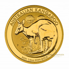 1/2 Troy ounce golden coin Kangaroo 2021