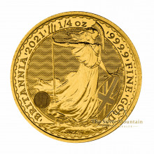 1/4 troy ounce gold coin Britannia 2021