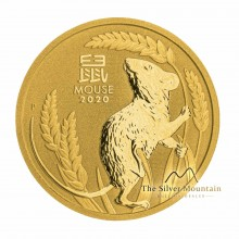1 Troy ounce gold coin Lunar 2020