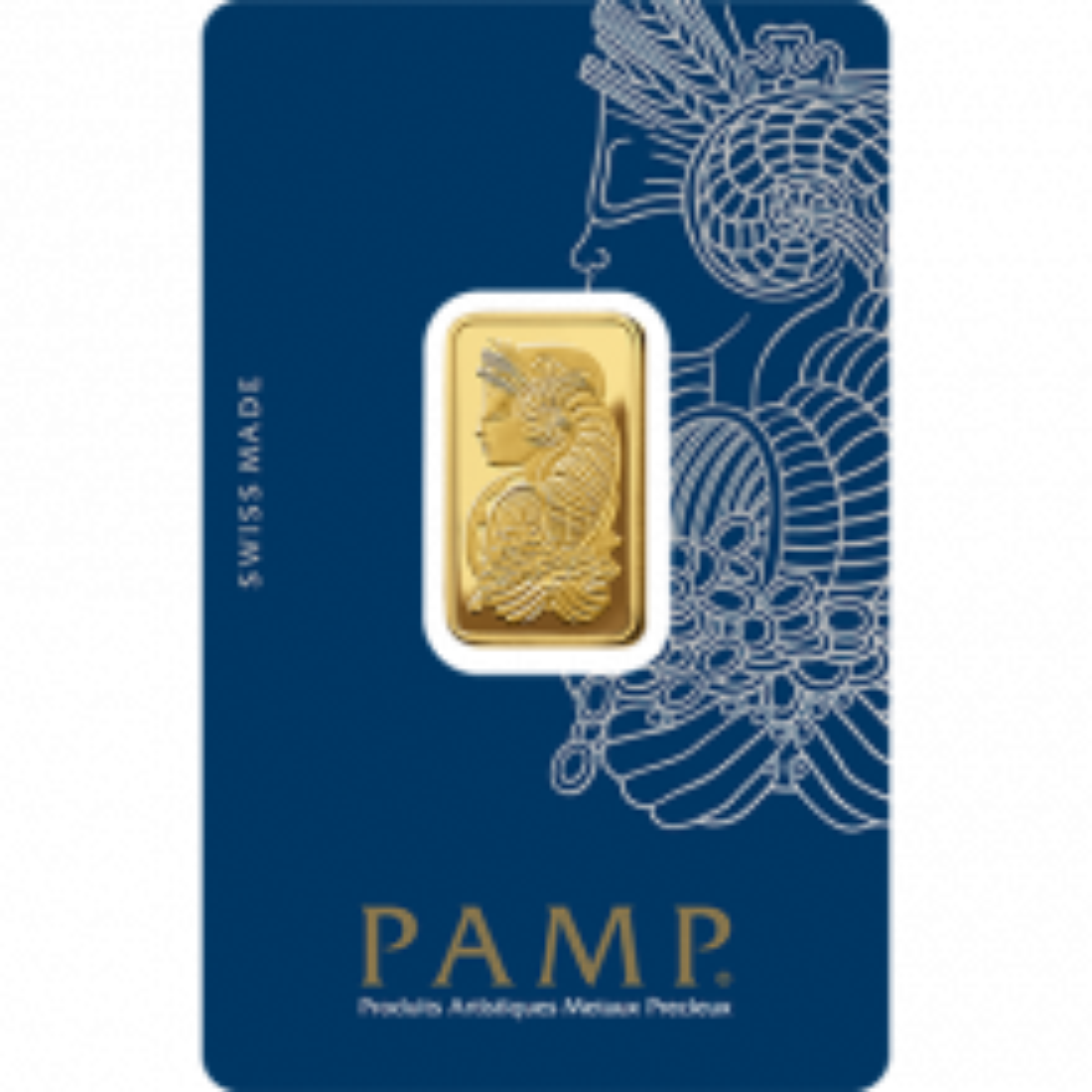 10 grams gold bar Pamp Suisse Fortuna