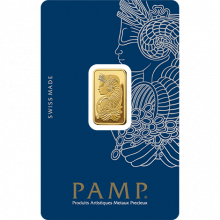 5 grams gold Pamp Suisse Fortuna