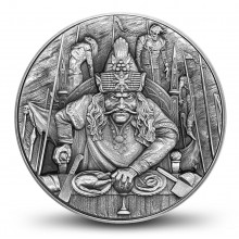 2 troy ounce silver coin the Impaler Dracula 2020
