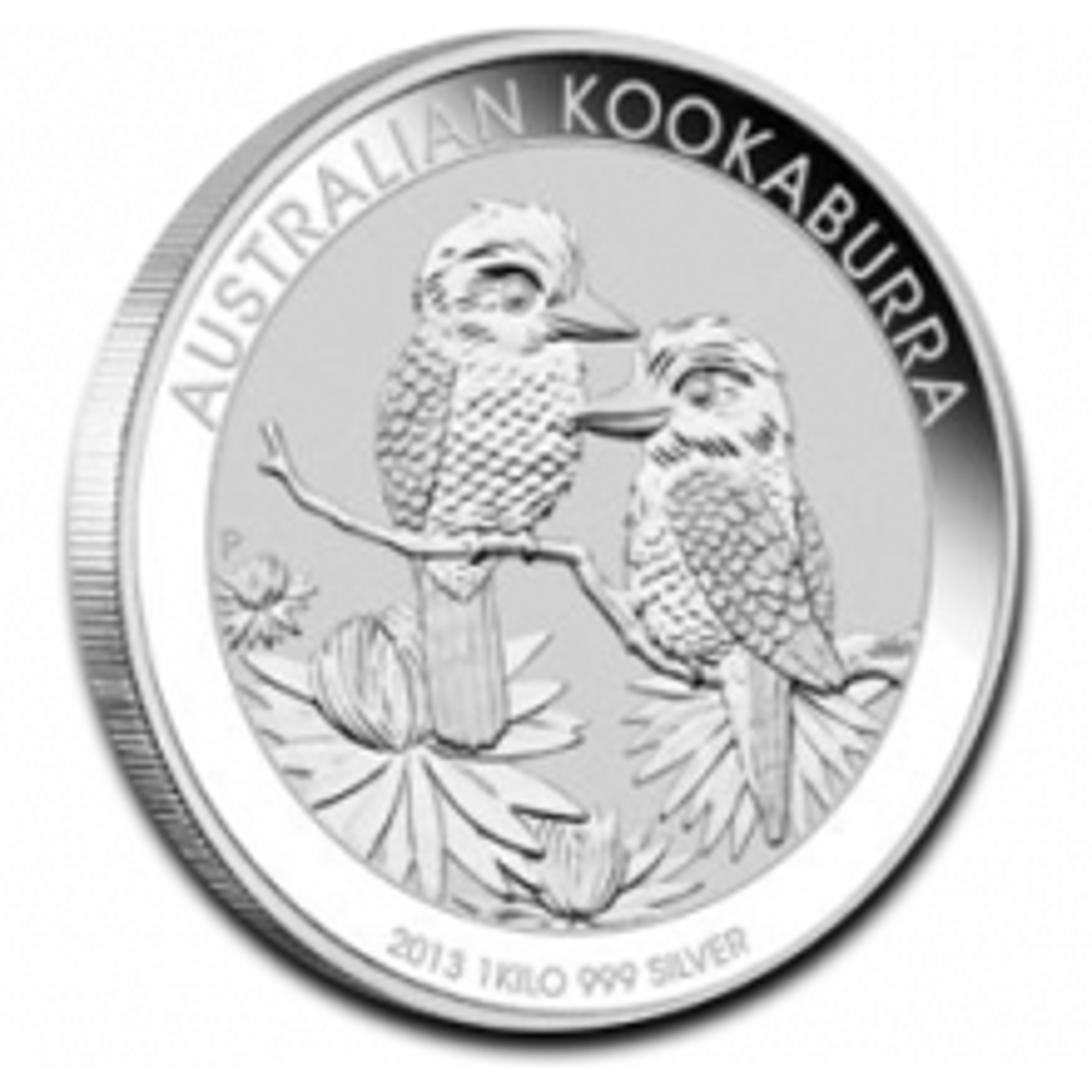 1 Kilo Kookaburra silver coin 2013