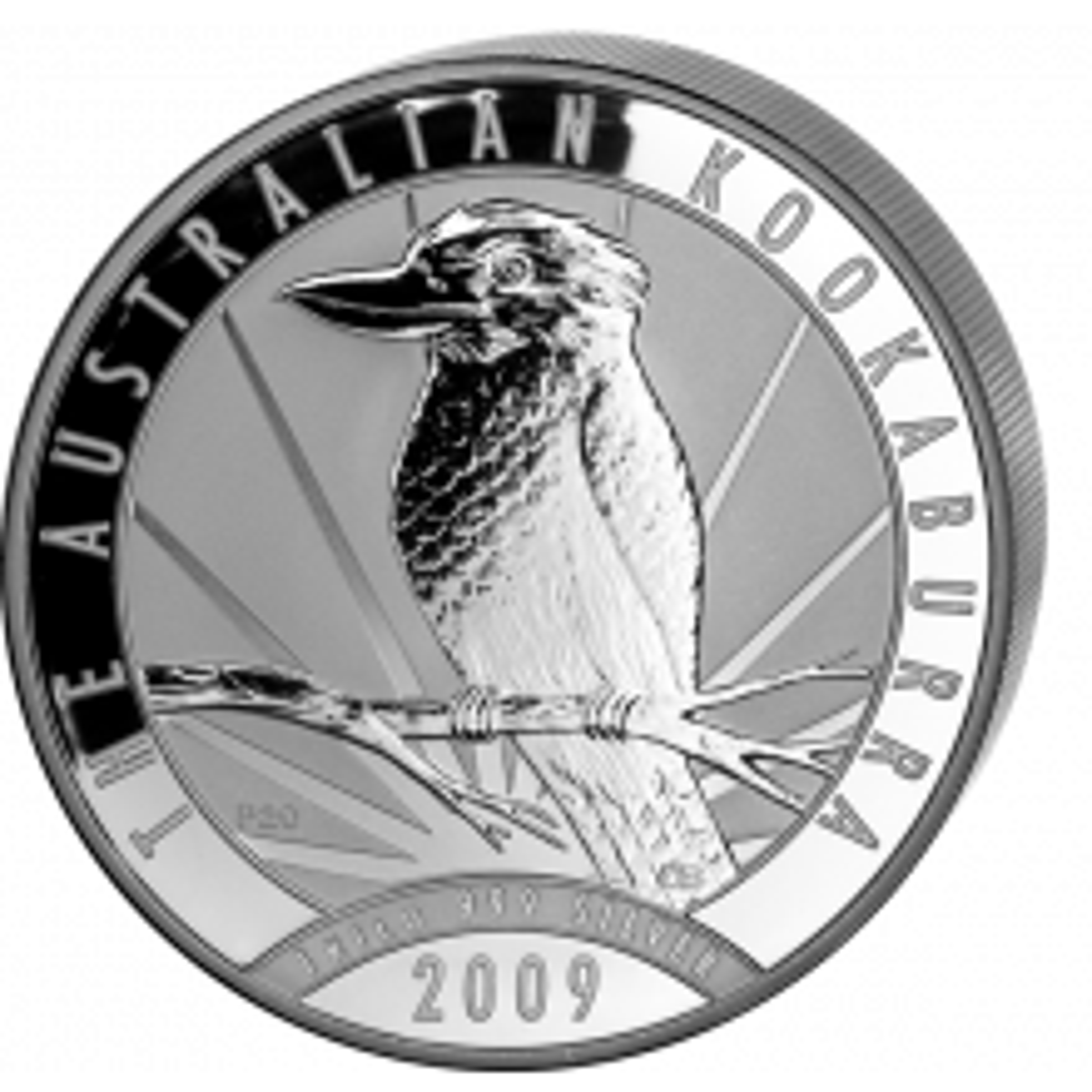 1 Kilo Kookaburra silver coin 2009