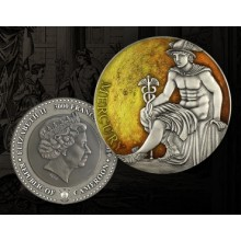 3 Troy ounce silver coin Planets and Gods - Mercury