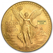 1 Troy ounce gold coin Mexican Libertad Proof