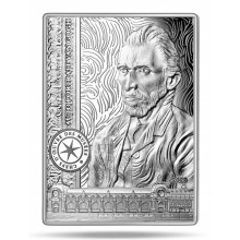 Silver coin Vincent van Gogh 2020 Proof