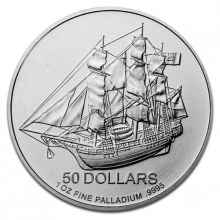 1 Troy ounce palladium Cook Islands coin