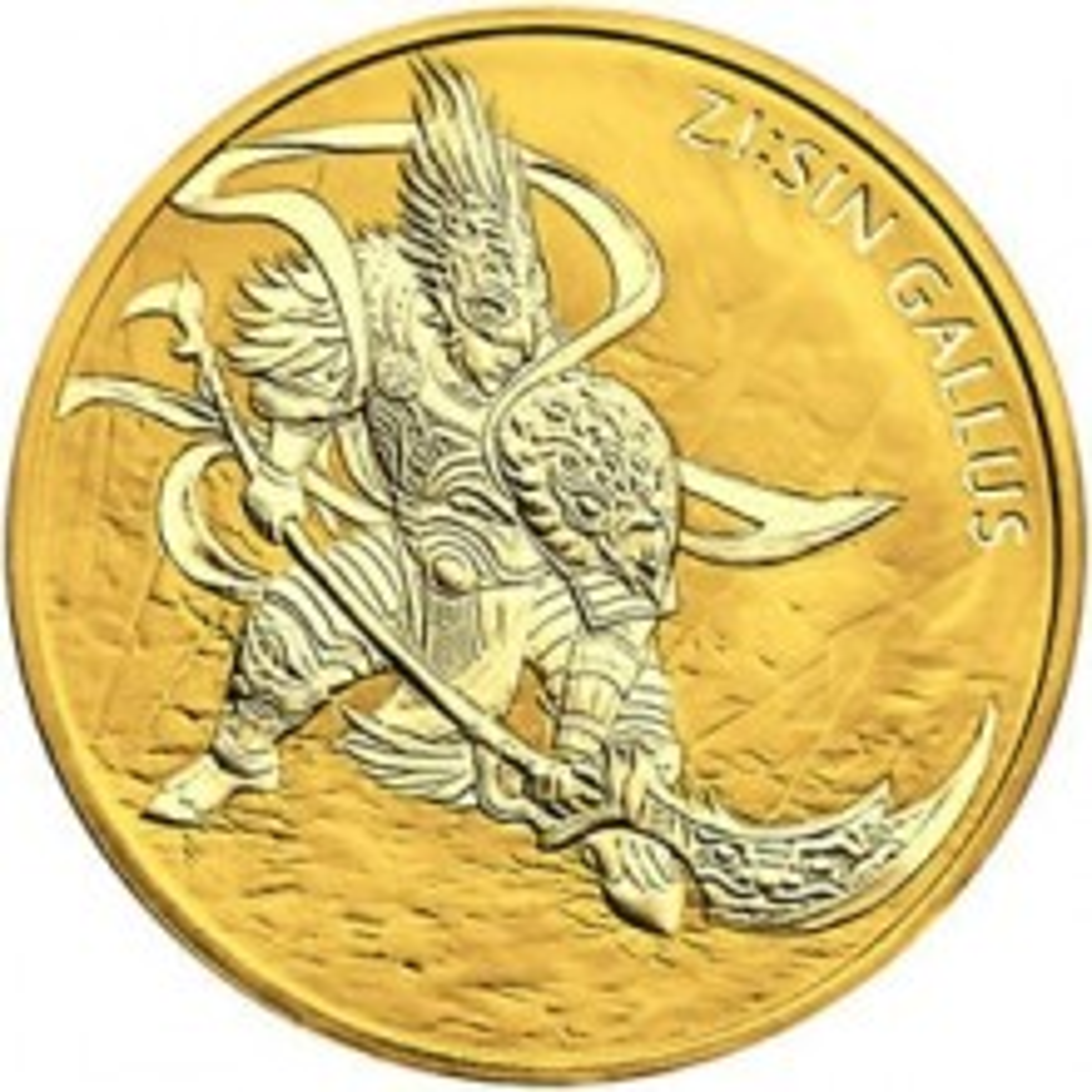 1 Troy ounce gouden munt Gallus 2017