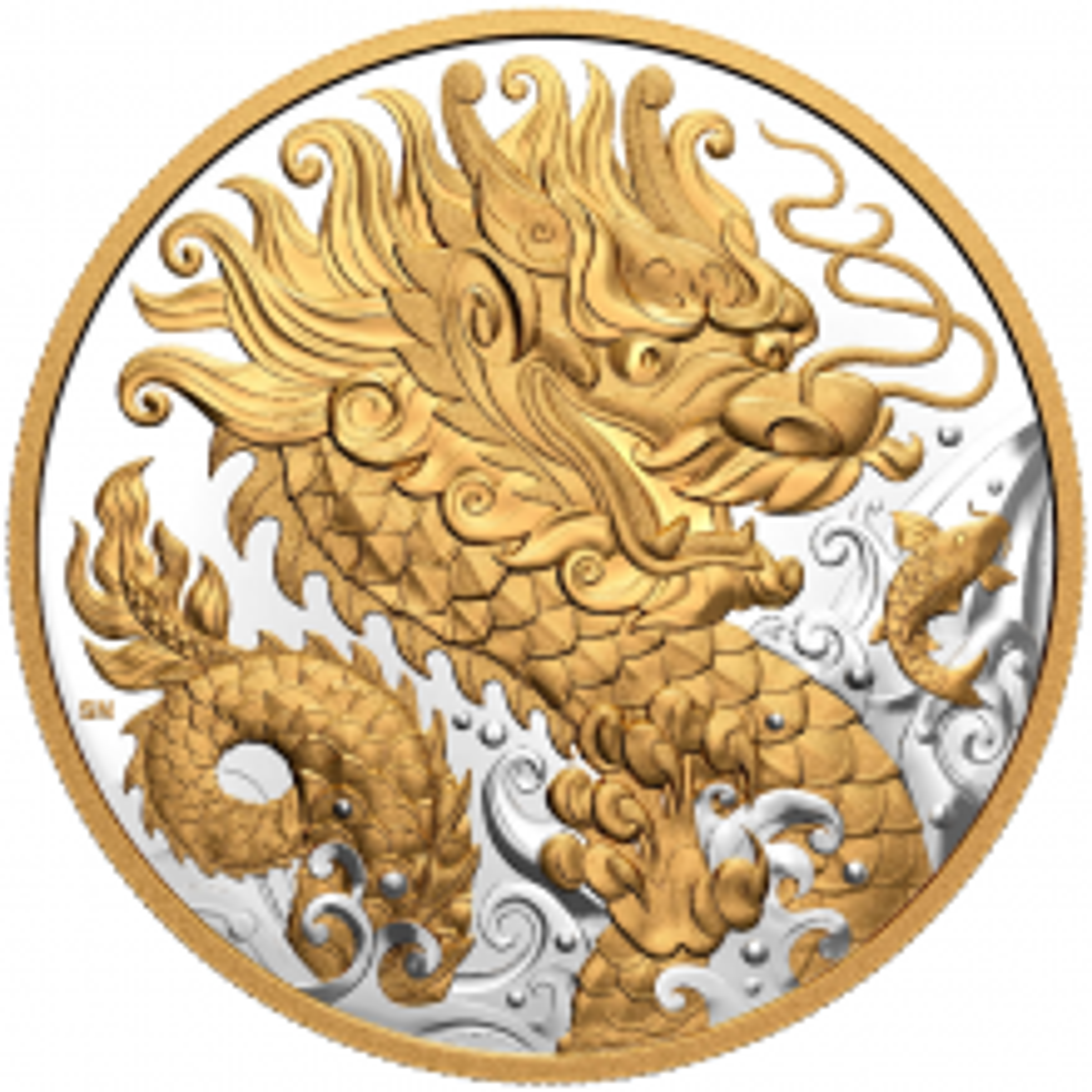 Silver coin Triumphant Dragon 2021 Proof