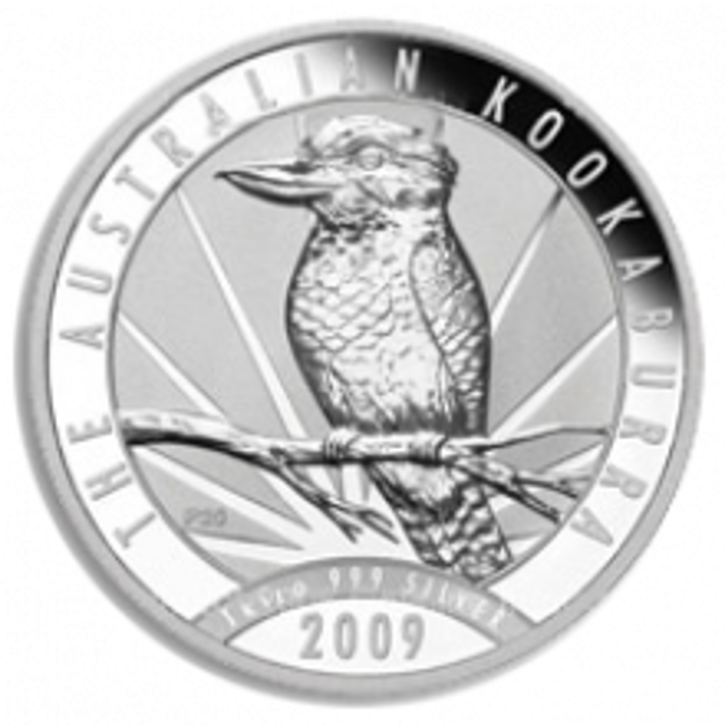1 troy ounce silver coin Kookaburra 2009