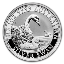 1 Troy ounce silver coin Silver Swan 2019