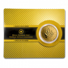 Special: Gold 99,999% Maple Leaf coin 2008