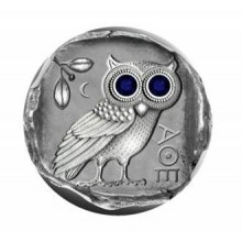 Silver coin 1/2 Troy ounce The Owl of Athens Proof 2019