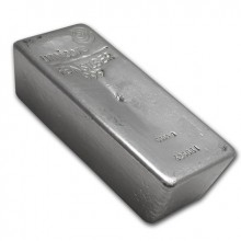 5 Kilo silver bar various melters