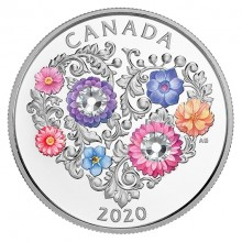 Silver coin Celebration of Love 2020