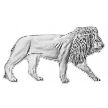 1 troy ounce silver coin African Lion 2021