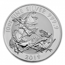 10 Troy ounce silver coin Valiant 2019