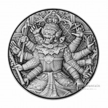 2 troy ounce silver coin Tossakan 2020