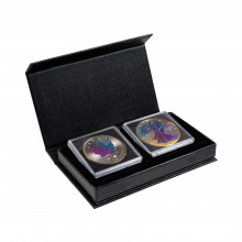 1 troy ounce silver coins set Cameleon