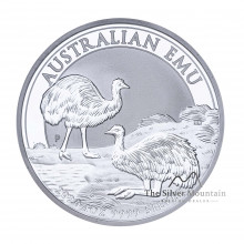 1 Troy ounce silver coin Emu 2020