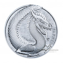 1 Troy ounce silver coin Germania Beast Fafnir 2020