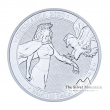 1 Troy ounce silver coin Germania 2020